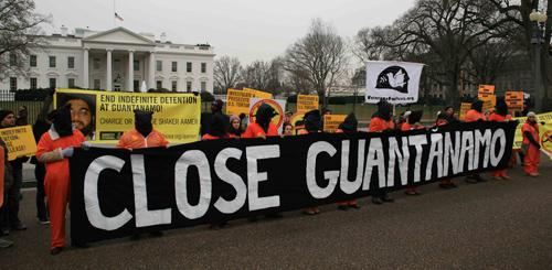 CLOSE GUANTANAMO RALLY